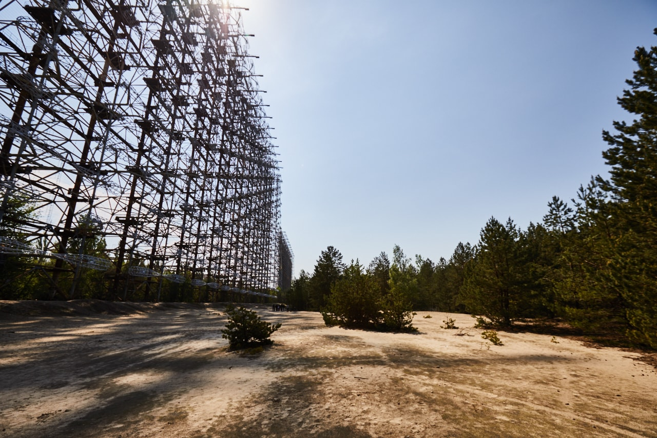 Duga radar system Chernobyl Exclusion Zone