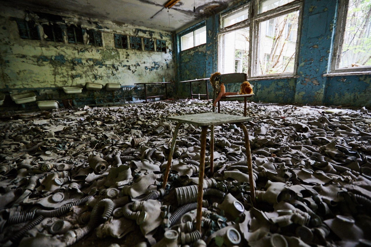 Grammar school chernobyl pripyat