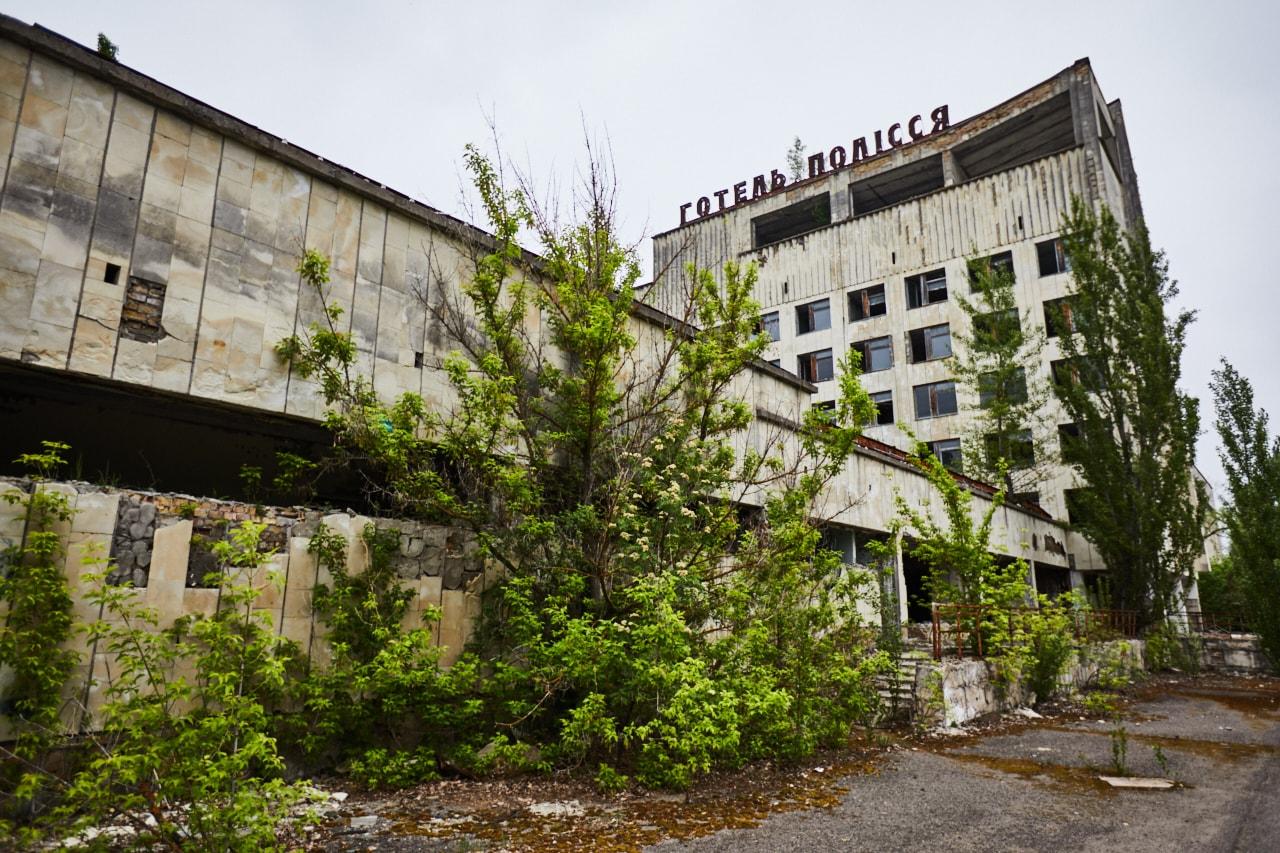 Hotel Polissya Chernobyl photo Pripyat town now