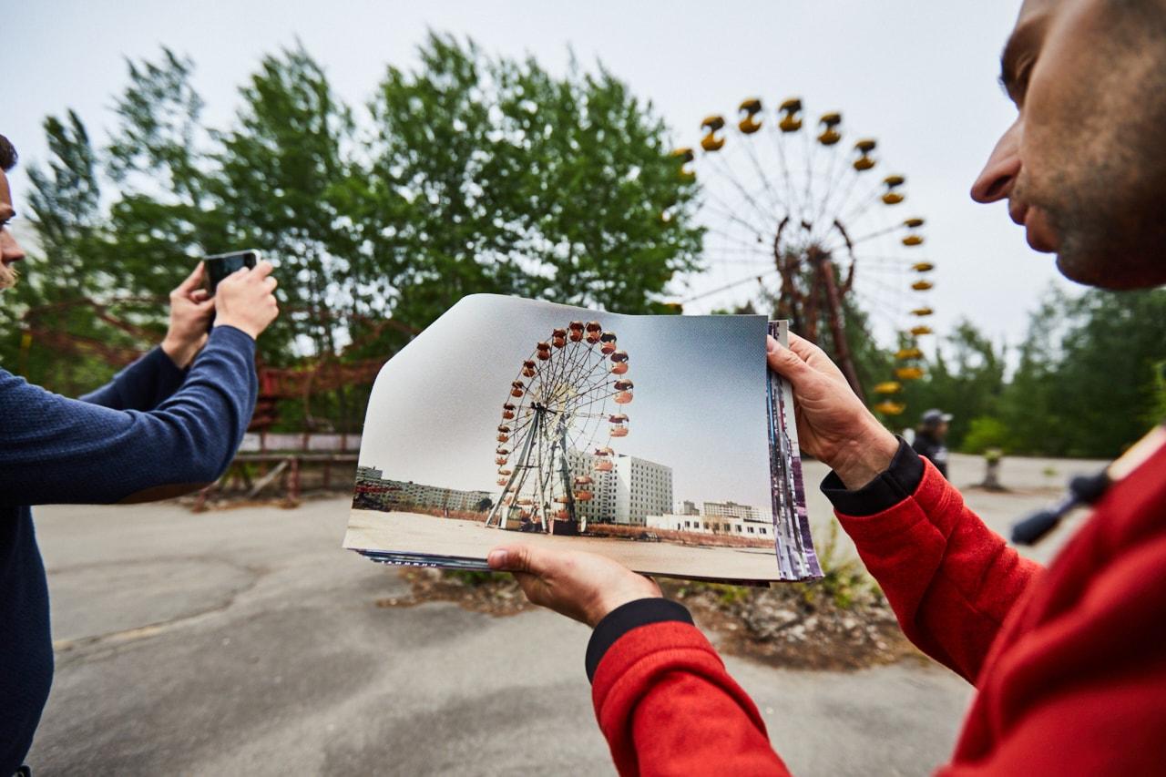 Pripyat amusement park ferris wheel