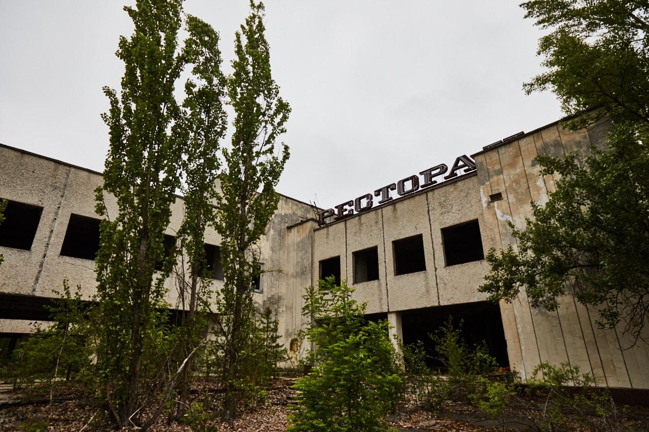 Chernobyl Exclusion Zone Pripya restaurantt